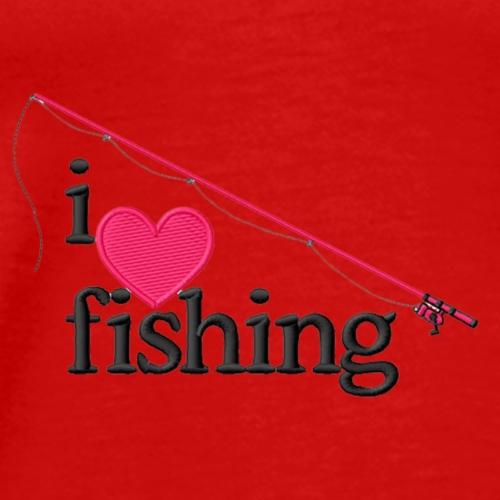 I Love Fishing - Men's Premium T-Shirt
