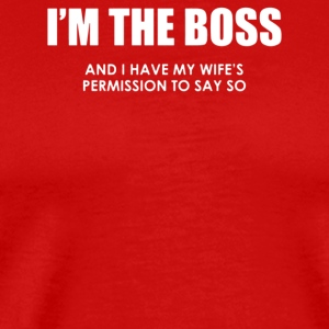 I m The Boss - Men's Premium T-Shirt