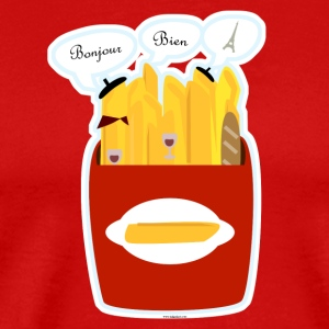 So Very French Fries - Men's Premium T-Shirt