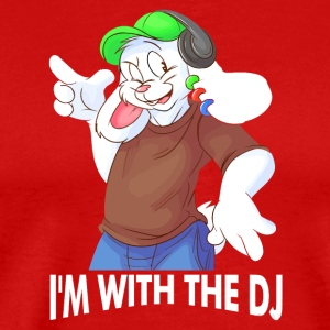 i with dj - Men's Premium T-Shirt