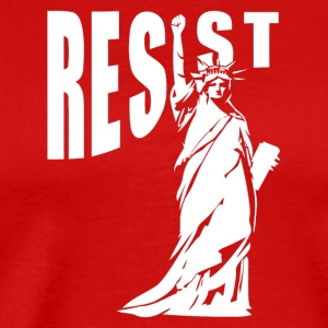 NY resist - Men's Premium T-Shirt