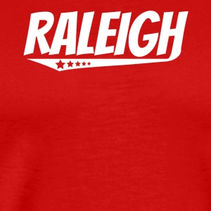 Raleigh Retro Comic Book Style Logo - Men's Premium T-Shirt