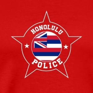 Honolulu Police T Shirt - Hawaii flag - Men's Premium T-Shirt