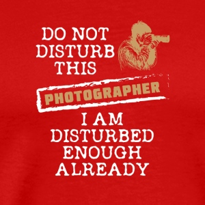 Photographer sayings/quotes t-shirt design - Men's Premium T-Shirt