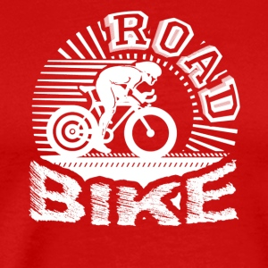 I Love My Road Bike Shirt - Men's Premium T-Shirt