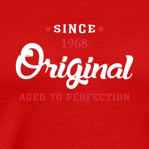Since 1968 Original Aged To Perfection - Men's Premium T-Shirt