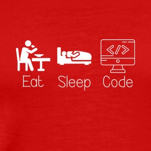 Eat Sleep and Code - Men's Premium T-Shirt