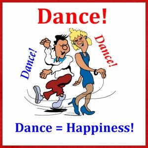 Dance Dance Dance = Happiness - Men's Premium T-Shirt