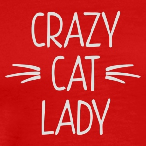CRAZY CAT LADY 2 - Men's Premium T-Shirt