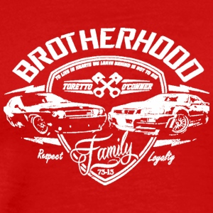 Fast and Furious Brotherhood - Men's Premium T-Shirt