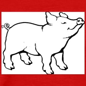 Cute piggy - Men's Premium T-Shirt