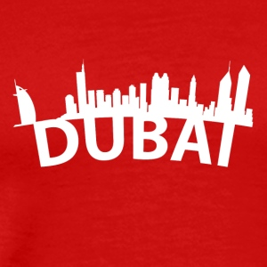 Arc Skyline Of Dubai United Arab Emirates - Men's Premium T-Shirt