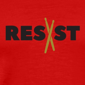 resist drumsticks - Men's Premium T-Shirt