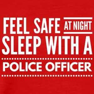 Sleep with a Police Officer - Men's Premium T-Shirt