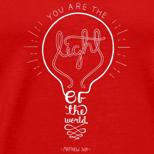 Matthew 5:14 - Men's Premium T-Shirt