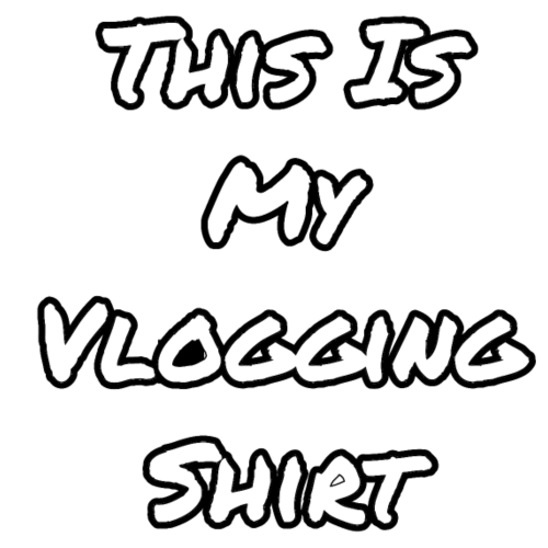 This Is My Vlogging Shirt - Men's Premium T-Shirt
