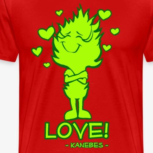 Love! - Kanebes - - Men's Premium T-Shirt