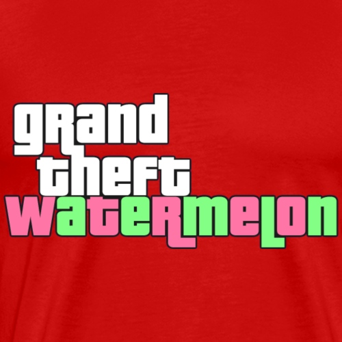 Grand Theft Watermelon - Men's Premium T-Shirt