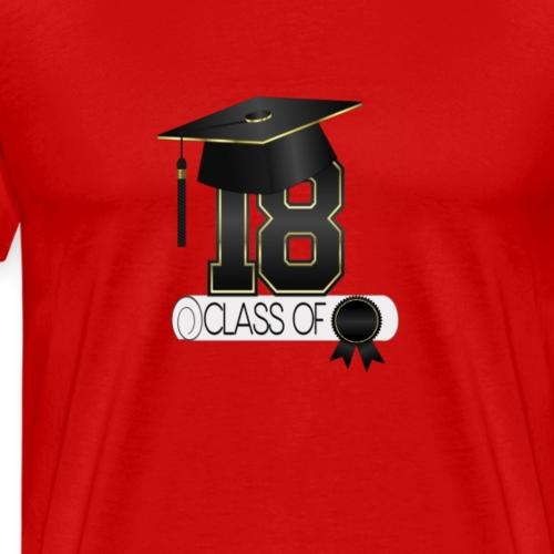 Graduation Class of 2018 - Men's Premium T-Shirt