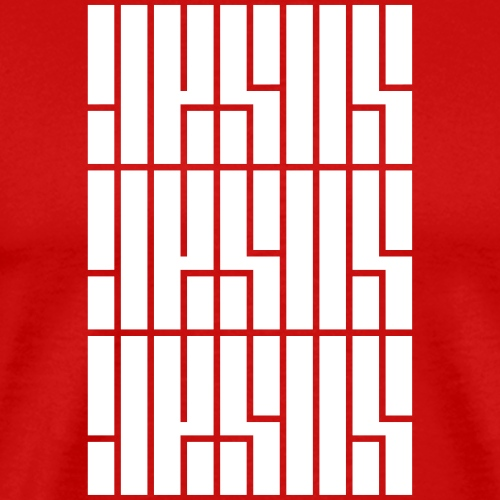 JESUS Repeated - Men's Premium T-Shirt