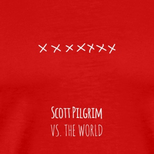 Scott Pilgrim vs. the World T-Shirt - Men's Premium T-Shirt