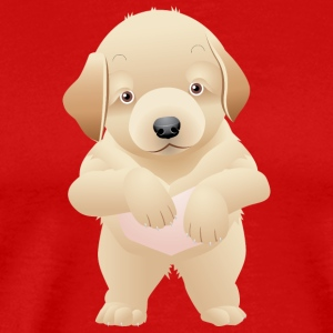Cute and sweet puppy 35 - Men's Premium T-Shirt
