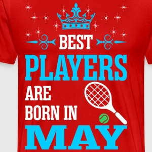 Best Players Are Born In May - Men's Premium T-Shirt