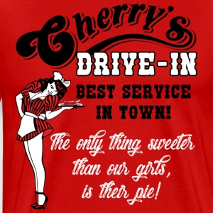 Cherry's Drive In Humor Adult Tee - Men's Premium T-Shirt