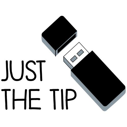 Just the Tip USB - Men's Premium T-Shirt