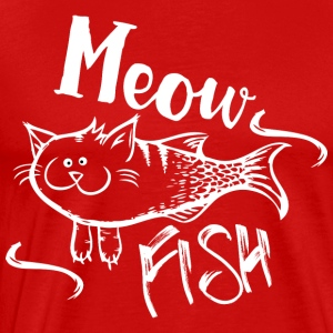Ffunny Catfish Fishing T-Shirts - Men's Premium T-Shirt