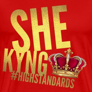 SHE KYNG CROWN - Men's Premium T-Shirt