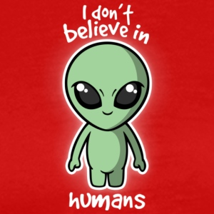 Aliens don 039 t believe - Men's Premium T-Shirt