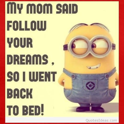 bed dreams funny minions Favim com 2163333 - Men's Premium T-Shirt