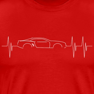 5th Generation Camaro Heartbeat - Men's Premium T-Shirt