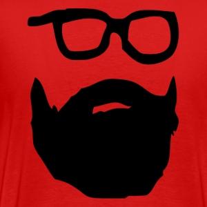 Joe Wrenches Beard & Glasses - Men's Premium T-Shirt
