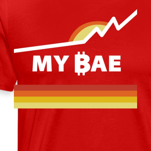 Bitcoin: My BAE (Before 'Anything' Else) - Men's Premium T-Shirt