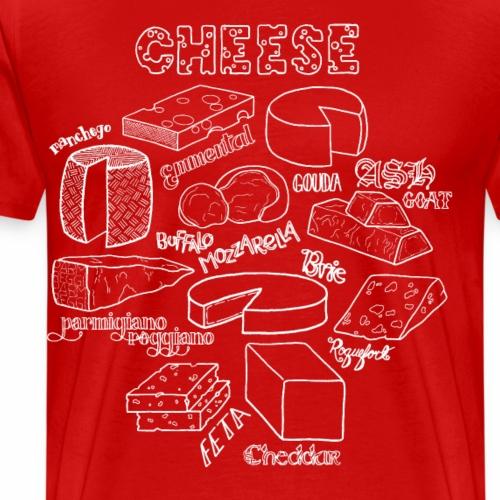 Cheese- White - Men's Premium T-Shirt