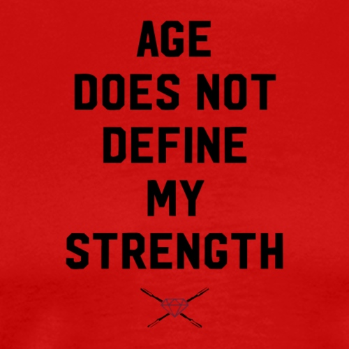 age strength black - Men's Premium T-Shirt
