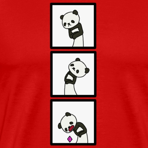 Panda Bit Pop - Men's Premium T-Shirt