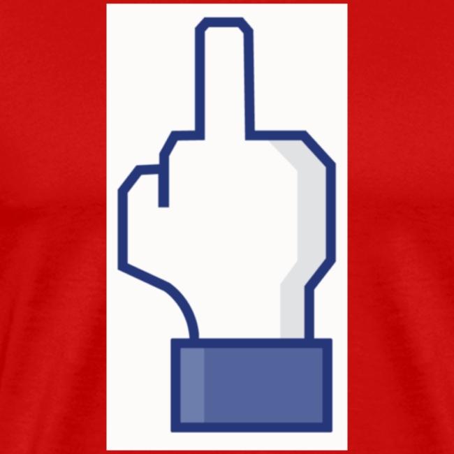 facebook middle finger di