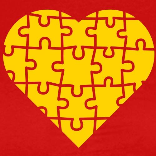 Puzzle Heart - Men's Premium T-Shirt