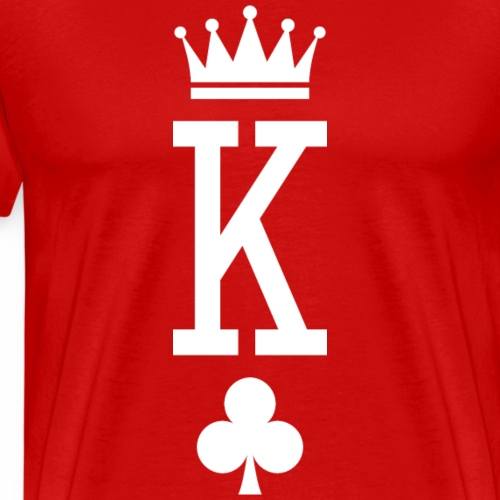 King of Cards (dark) - Men's Premium T-Shirt