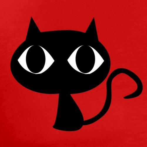 Cute cat with big head - Men's Premium T-Shirt
