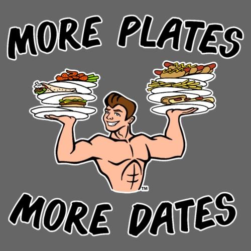 MorePlates_FINAL Spreadsh - Men's Premium T-Shirt