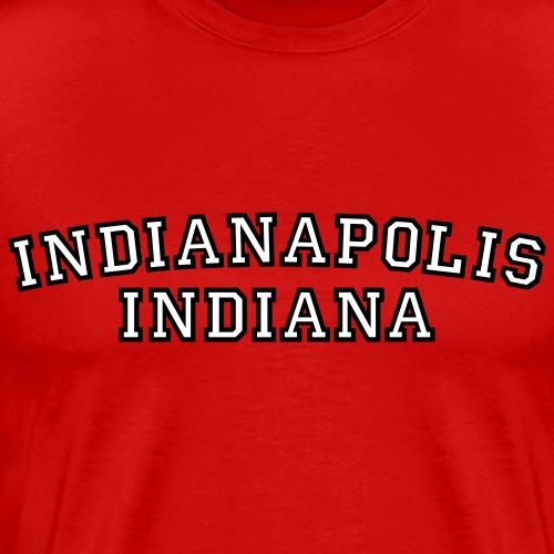 Indianapolis, Indiana - Men's Premium T-Shirt