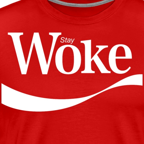 Stay Woke (new design) - Men's Premium T-Shirt