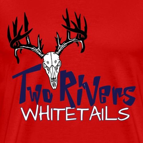 Two Rivers Whitetails - Men's Premium T-Shirt