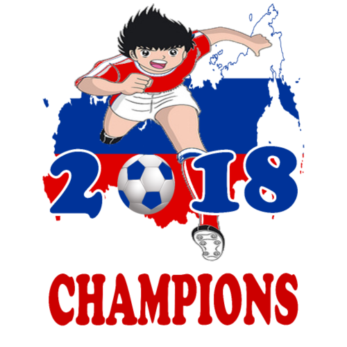 Russia World Cup Champions 2018 - Men's Premium T-Shirt