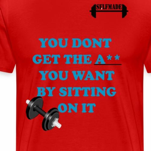 Dumbell - Men's Premium T-Shirt