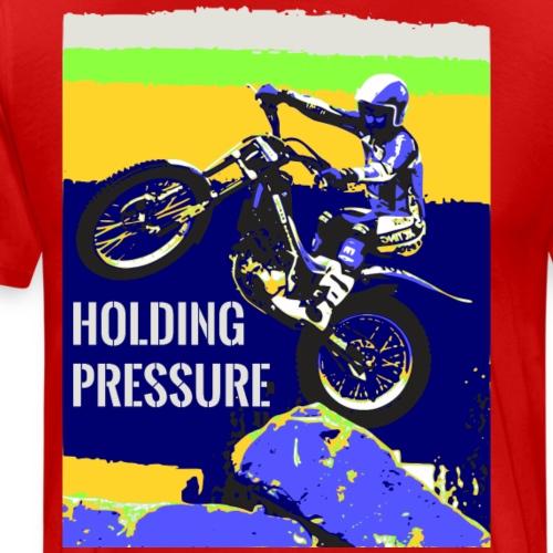 Holding Pressure Trials Bike - Men's Premium T-Shirt